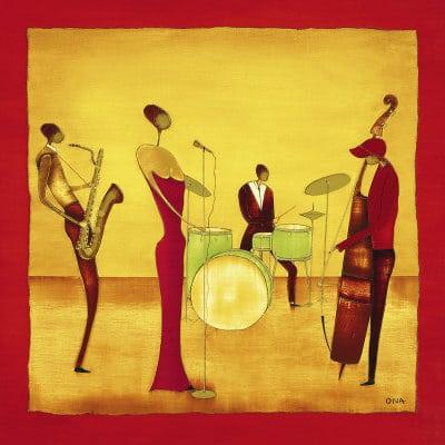 Residence Jazz 6-tet feat. Aafje de Bloois