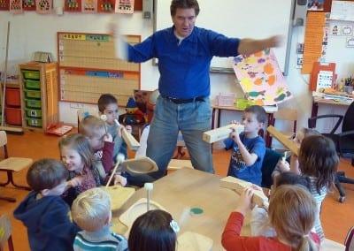 """""""Workshop Instrumenten Maken"""" met Bert van Bommel"""