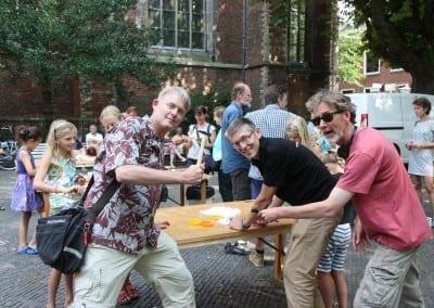 De organisatie Willem, Frank en Bart