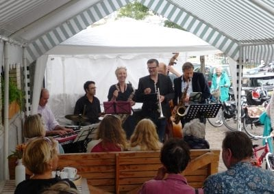Jazz Sextet the Prevaricators - Sijthoff (buiten) '16