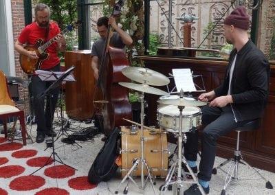 Jens Larsen trio - muziek gezien foto Peter J. Visser